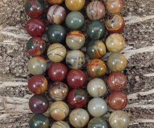 Red Creek Jasper 10mm Round