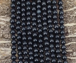 Shungite 6mm Round