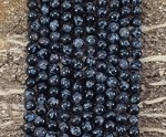 Indigo Gabbro aka Mystic Merlinite 6mm Round