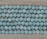 Amazonite Grade A Round 2.5mm Hole 8mm