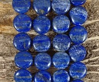 Natural Lapis 20mm Coin