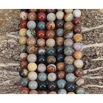 Polychrome Jasper 8mm Round