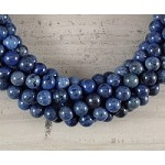 Sunset Dumortierite 8mm Round