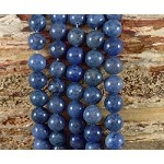 Sunset Dumortierite 10mm Round