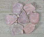 Rose Quartz Tumble Nugget Pendant