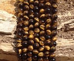 Yellow Tiger Eye 8mm Round